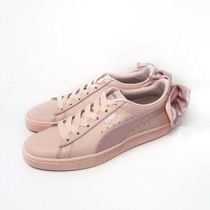 Puma Basket Bow Leather Sneaker